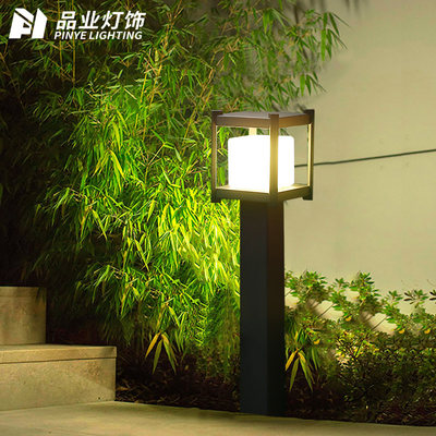 Pinye Solar Light Lawn Light Simple and Modern Outdoor Waterproof Garden Park Lawn Light Outdoor Road Light