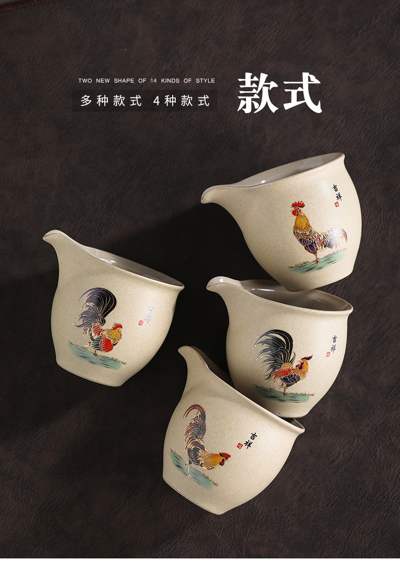 Reasonable by coarse pottery cups of tea sea household ceramic tea and a cup of kung fu tea accessories points of tea cups