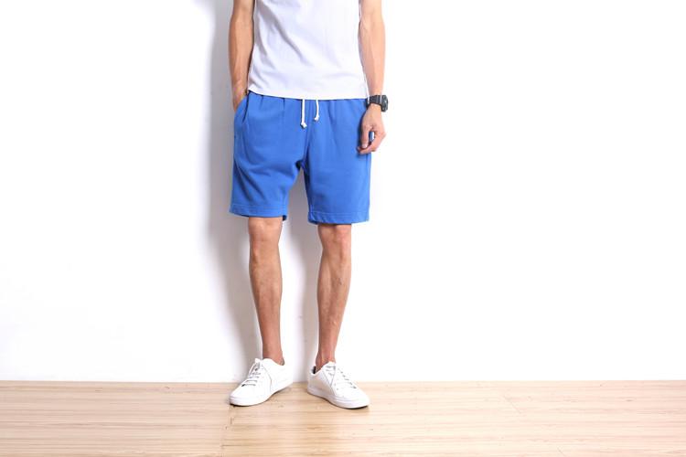 不断货 爆款 纯棉五色运动短裤 针织毛圈短裤 DK02-P35 量大从优