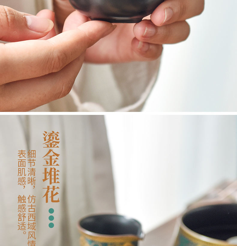 Become precious little ancient ceramic cups kung fu tea tea set household sample tea cup, small single cup bowl masters cup cup