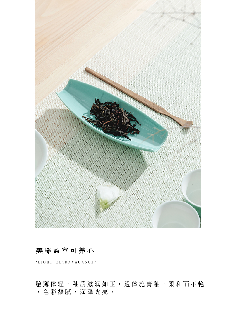 "The Self - ""appropriate content cyan tea was a Japanese tea taking retro 6 gentleman tea accessories jingdezhen kung fu tea set"
