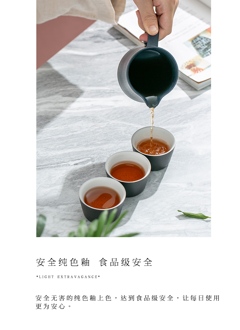 """Self - """"appropriate content ceramic fair keller Japanese contracted coarse pottery points tea ware cup and cup) is the tea cups"""