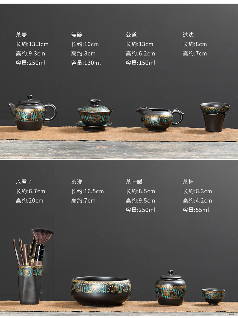 Treasure minister 's tureen to use ceramic cups only three tureen large single kung fu tea tea bowl ceramics