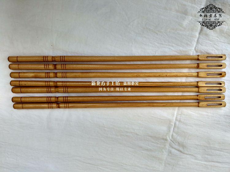 Sáo bằng gỗ làm sạch gián điệp que thăm dò sáo qua các phụ kiện nhạc cụ phụ kiện sáo 8 nhân dân tệ