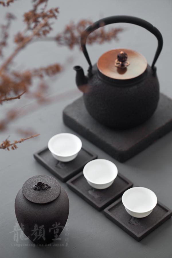 Urn shape ceramic tea pot coarse pottery POTS put POTS sealed POTS and POTS of tea storage POTS