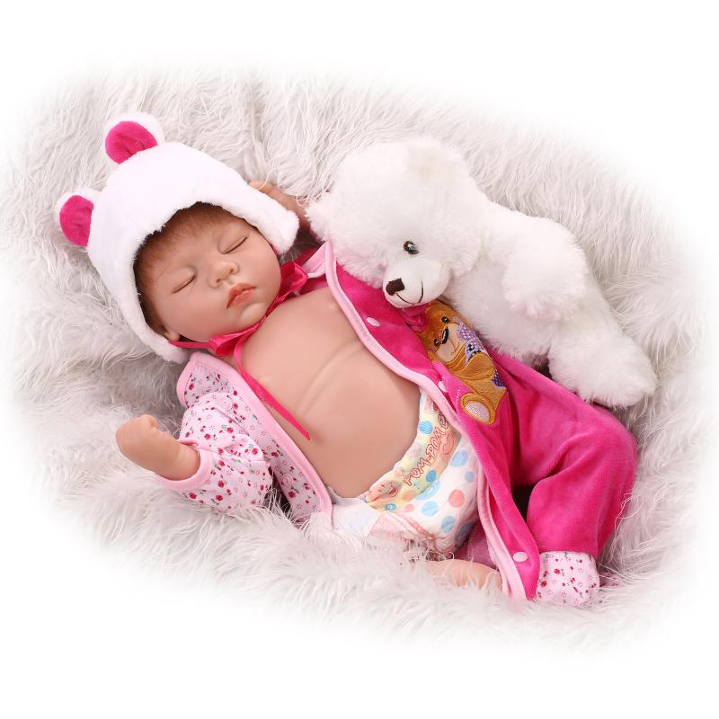 Simulation baby soft baby doll newborn photography training props baby puzzle accompany sleeping toys