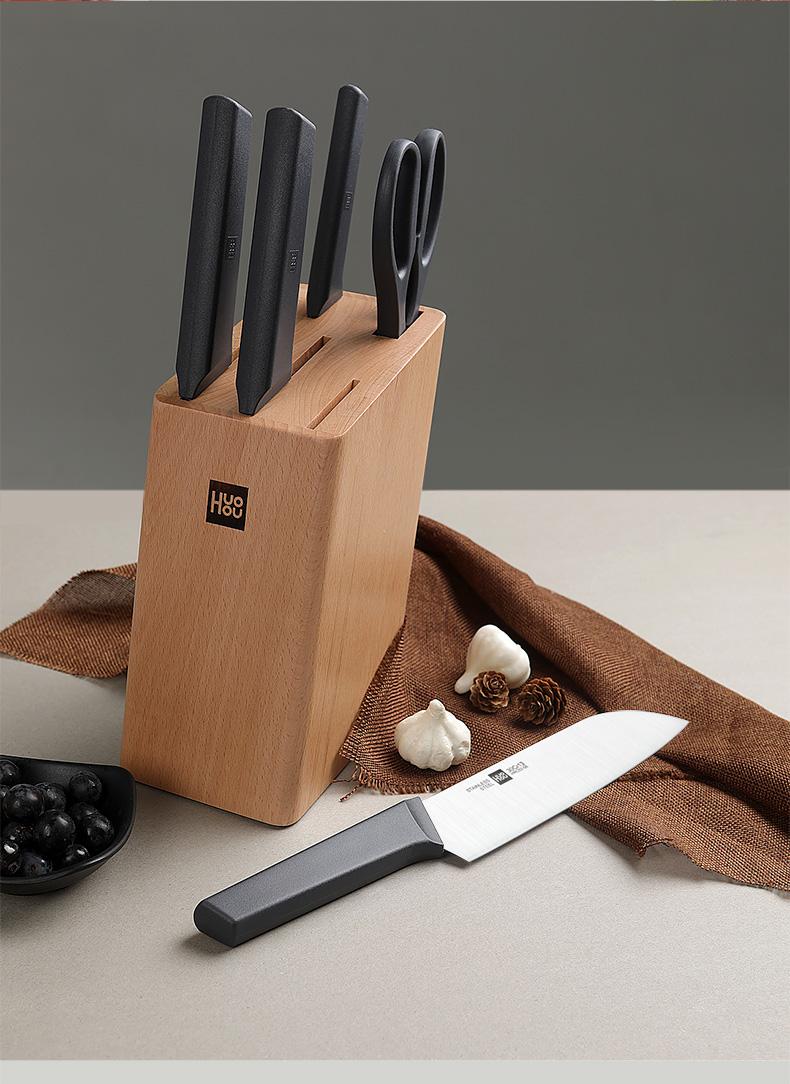 小米生态链 火候 青春版厨刀 4件套 图9