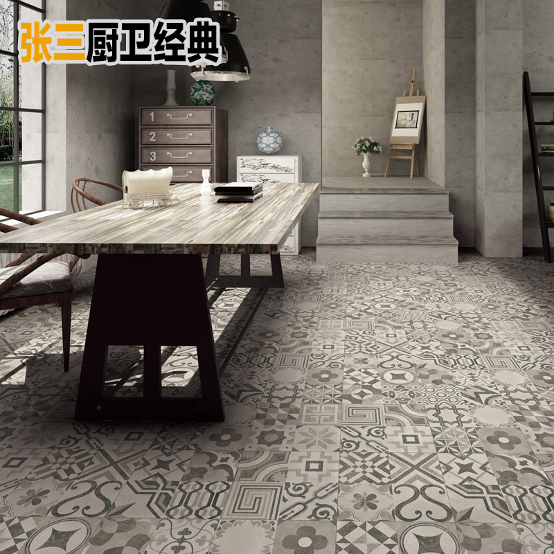 Usd 724 Nordic Industrial Style Grey Tiles Cement Tiles Tiles