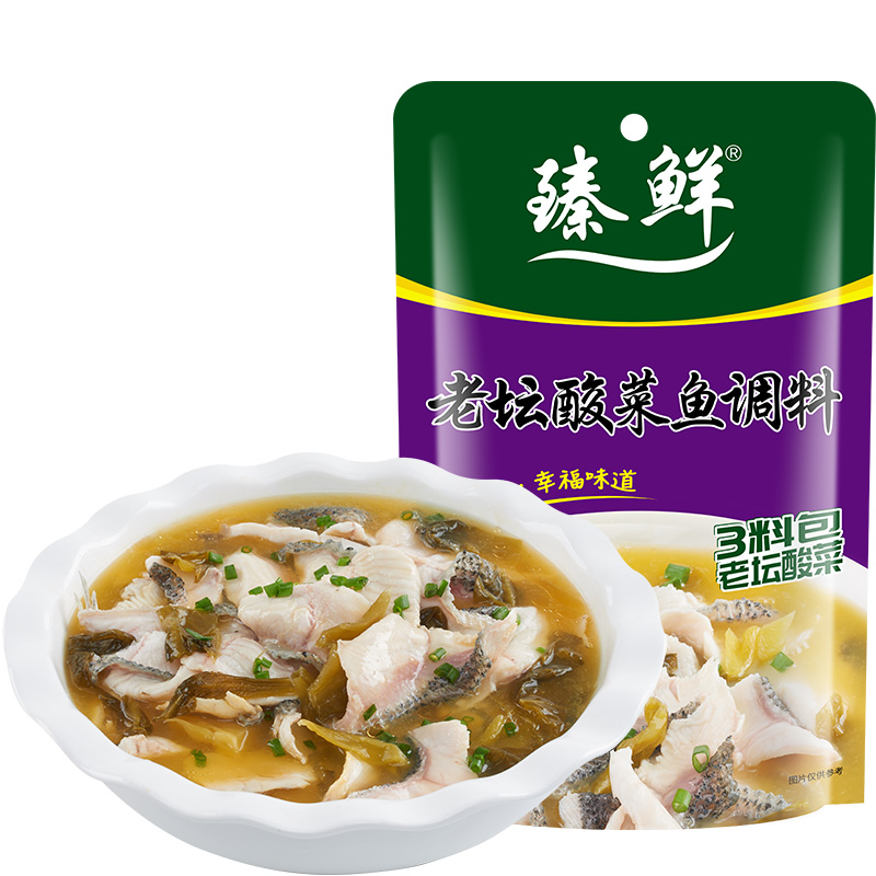 臻鲜四川老坛酸菜鱼调料包360g