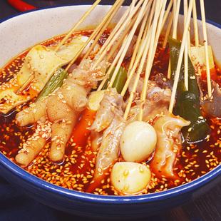 四川樂山缽缽雞調料商用配方冷串串盆火鍋麻辣燙底料包冷鍋串串香