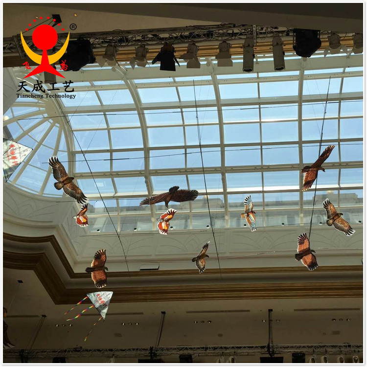 老鹰造型风筝 终极胜利电影拍摄风筝道具 潍坊传统特色风筝礼品