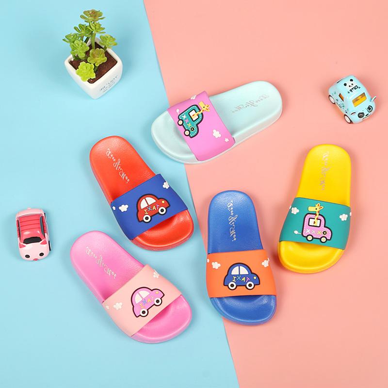 儿童拖鞋宝宝可爱凉拖鞋夏男童女童软底室内防滑家用小童幼儿小孩