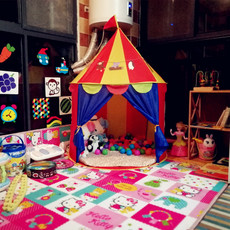 Children's game tent, yurt Princess Castle House, boy girl's house, toy baby's house