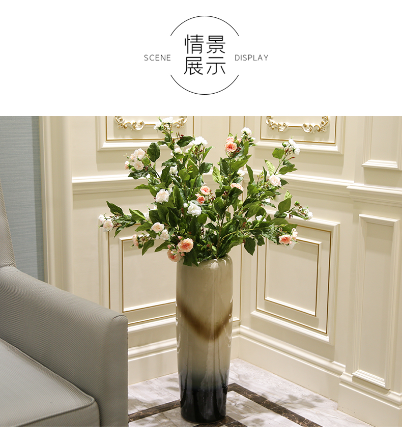Rural simulation false huashan camellia fashionable sitting room window home decoration decoration flower flower show clothing
