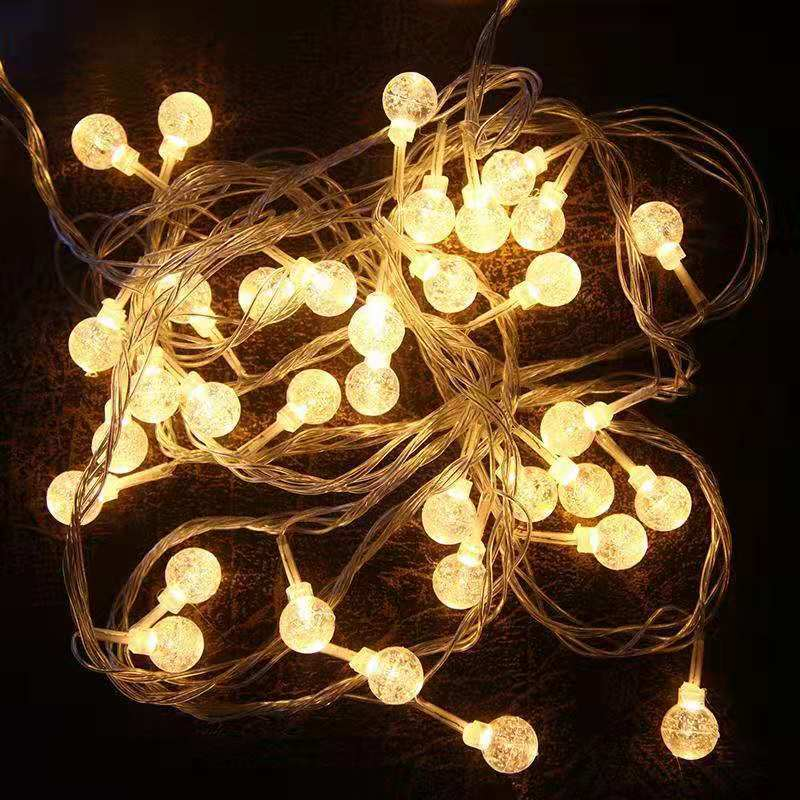 中國代購|中國批發-ibuy99|星星灯彩灯LED闪灯圆球灯小夜灯串灯网红主播卧室房间商店装饰灯