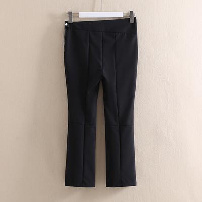 领系列◆直筒休闲裤007品牌折扣店正品女装2020夏新款百搭九分裤