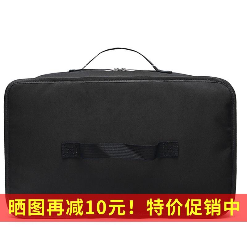 Túi du lịch hành lý chia túi xách tay nam và nữ xách tay khoảng cách ngắn di động nhẹ trọng lượng lớn lưu trữ tủ quần áo gấp túi - Túi du lịch