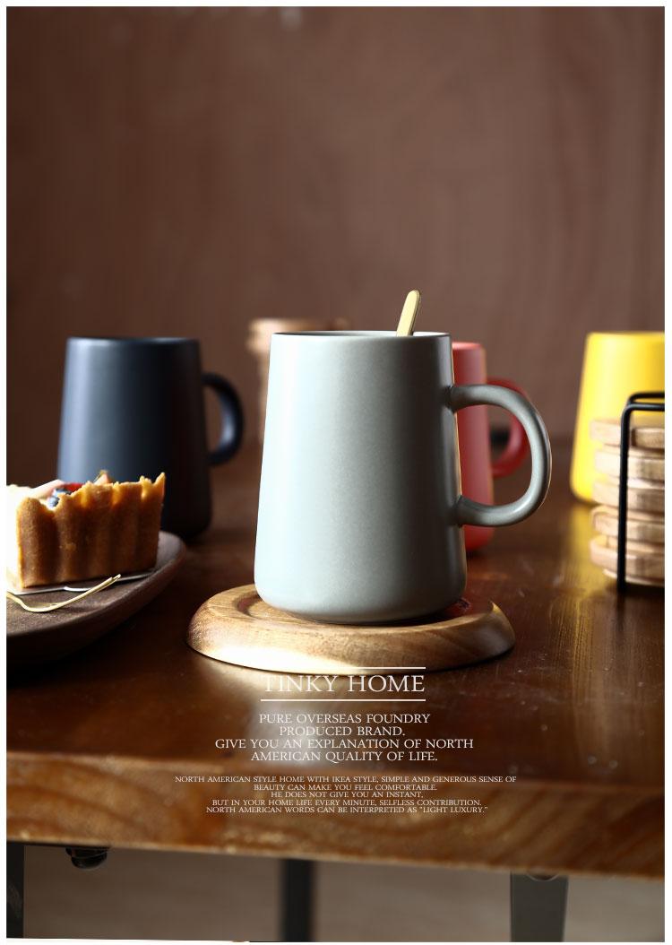 创意个性杯子陶瓷火山口马克杯潮流情侣喝水杯家用咖啡杯男女茶杯