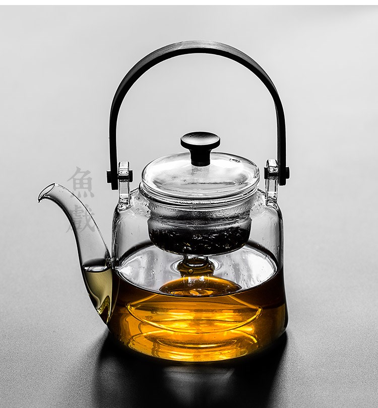 Domestic high temperature resistant glass girder of filter boil tea electric burn teapot TaoLu cooking and large capacity