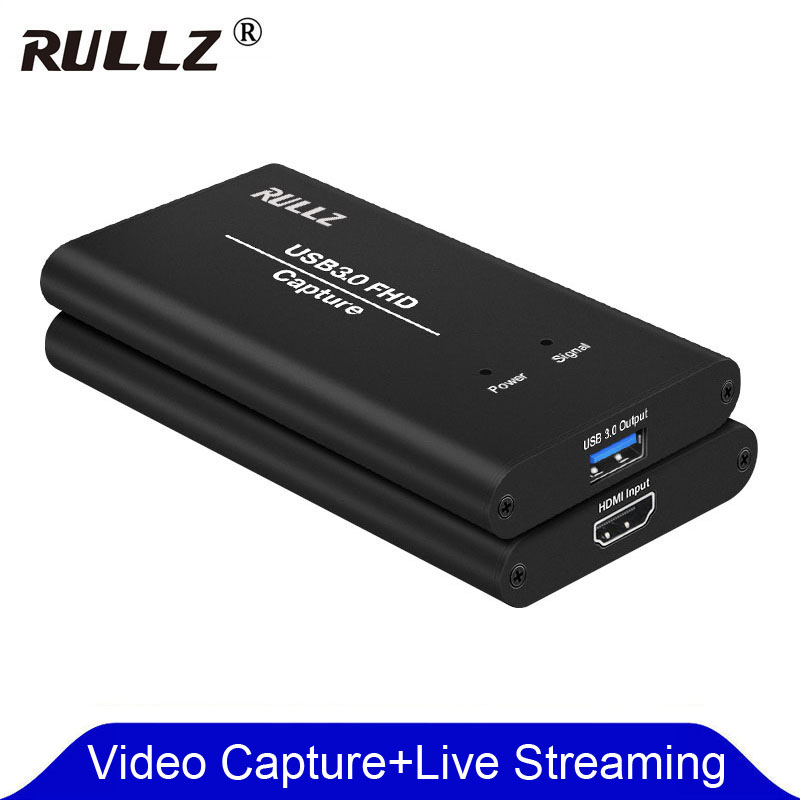 WIMI HDMI Video Capture Card HDMI to USB 3.0 Full HD Game Capture Live Streaming