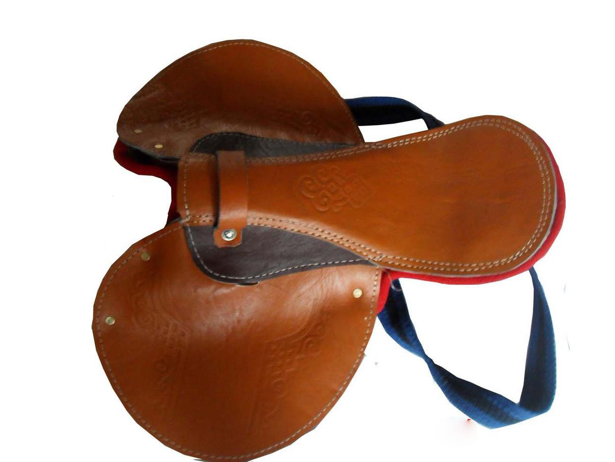 Спеццена доставка включена монголия седло пони седло матч седло ребенок седло короткая лошадь специальный седло лошадь инструмент
