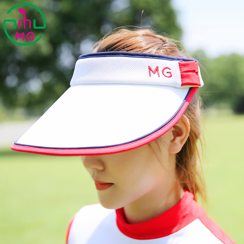 45e32fcada7 USD 47.43  2018 New MEETGOLF sports leisure ladies golf hat female ...