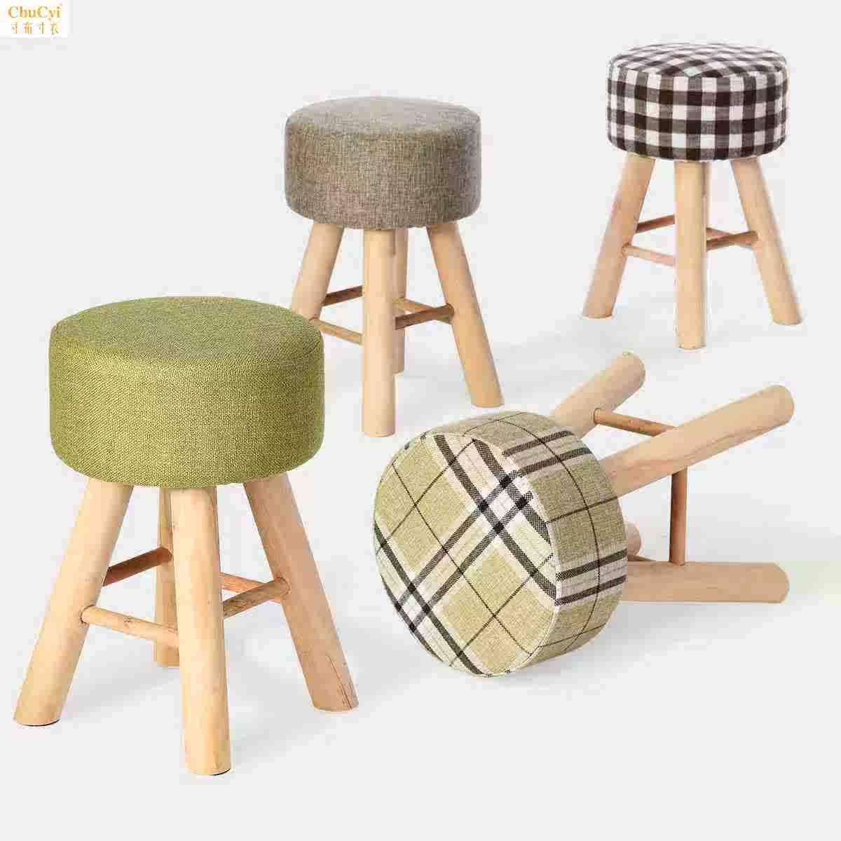 简单经典环保电脑凳透气试鞋凳简易舒适柔软简约家用板凳实用坐椅