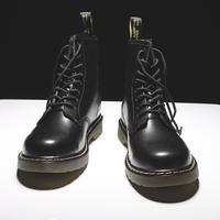 Берцы мужской высокий винтаж корейская версия Сапоги с сапогами средней высоты мужские ботинки Весна 2020 новая коллекция мужской башмак