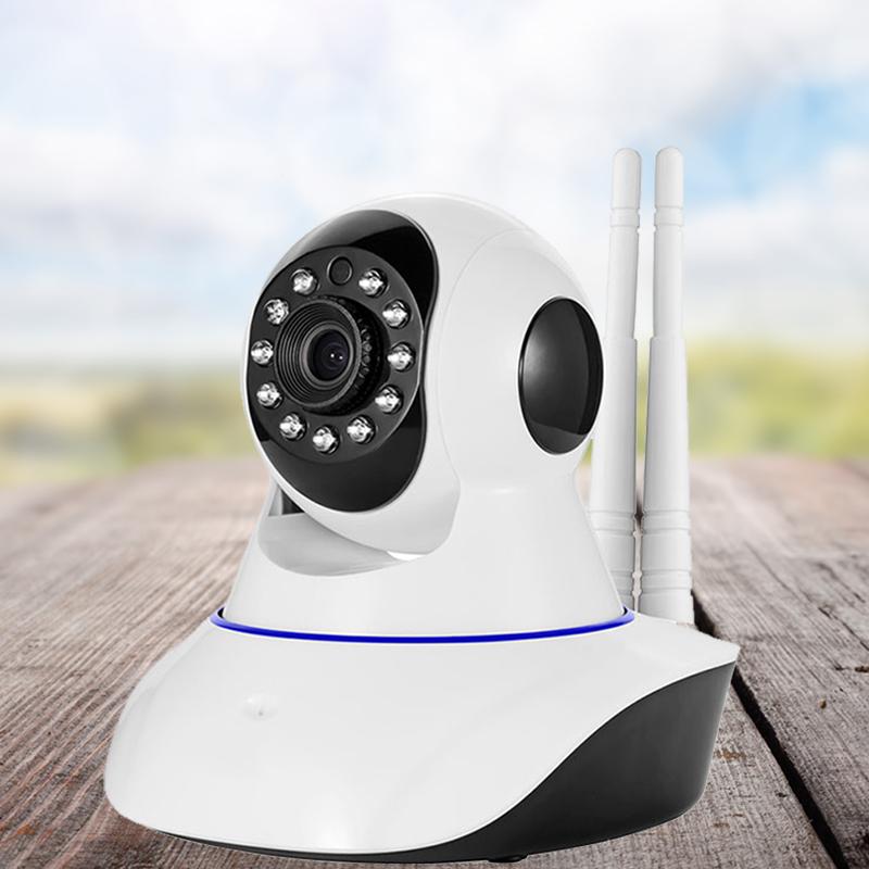 360度旋转摄像头全景监控无线远程wifi网络高清夜视家用可连手机,免费领取30元淘宝优惠卷