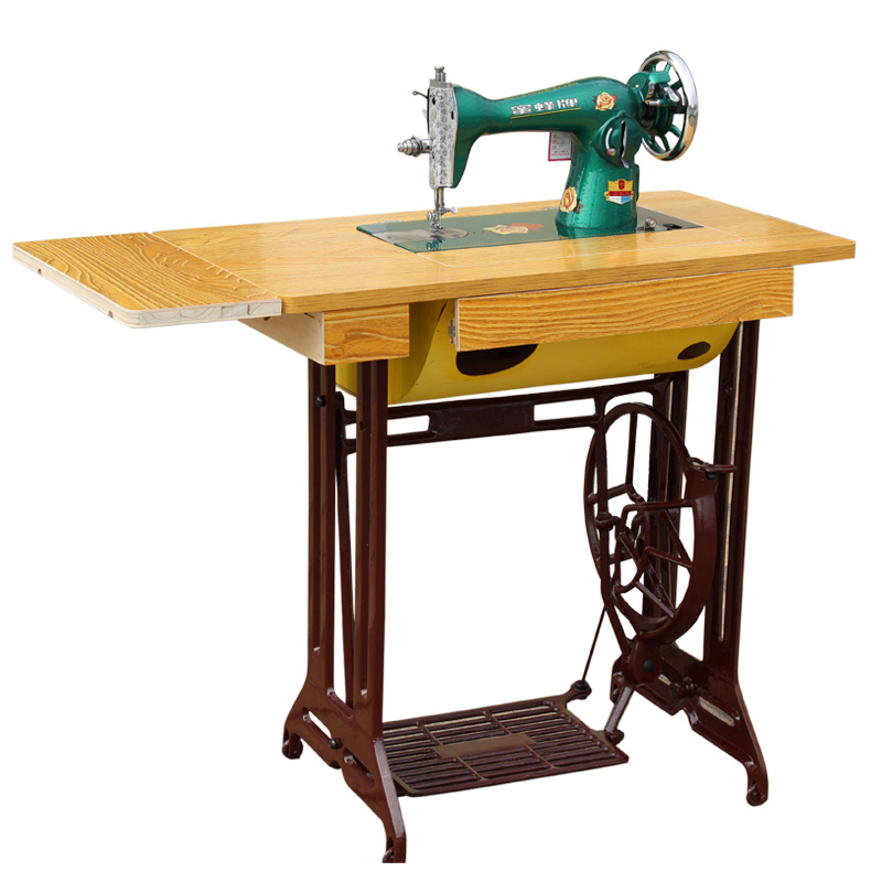 Sewing machine home old-fashioned authentic desktop pedal tailor ...