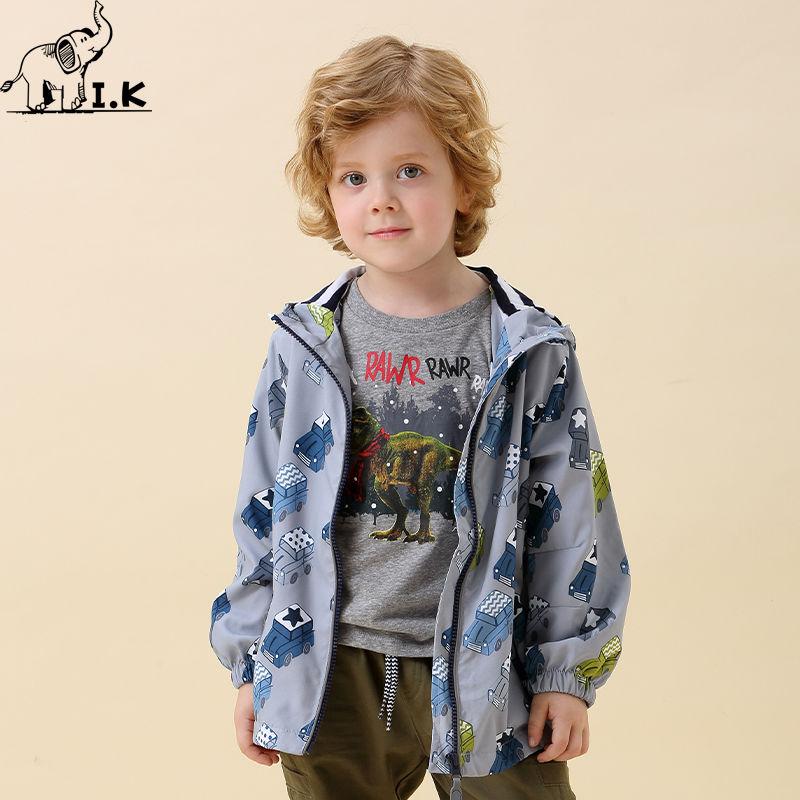 时尚童年I.K童装男童男童春秋款外套印象儿童服饰