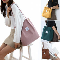ins bag canvas bag women's single shoulder messenger bag college students class art all-match handbag green shopping bag
