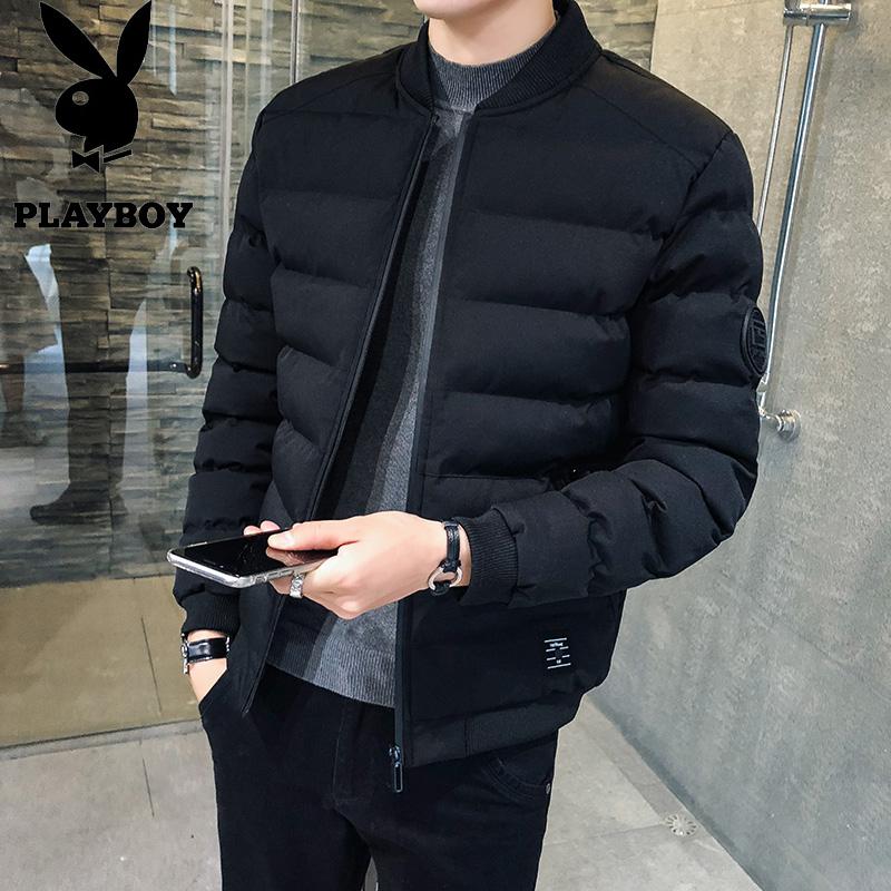 男士短款外套棉袄羽绒棉衣服保暖装