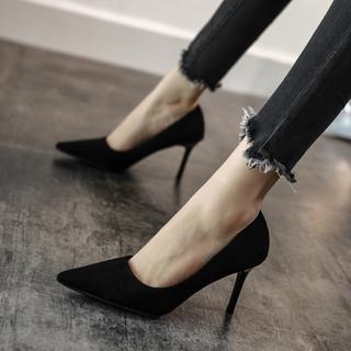 2020 новый французский небольшой на высоком кабгалстук-бабочкае черный высокой кабгалстук-бабочкаи женщина весна обувь женская точно с дикий чистый красный работа обувь женщина, цена 1815 руб