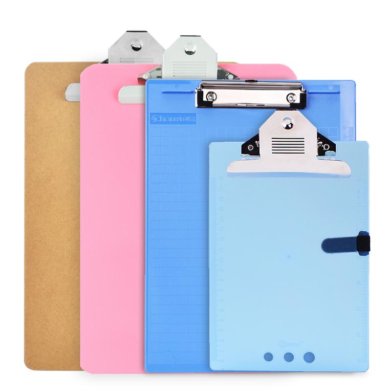 创易板夹A4文件夹垫板写字板夹A5车间菜单夹子纸夹板办公文具用品批发会议记录写字可悬挂资料夹考勤表学生用