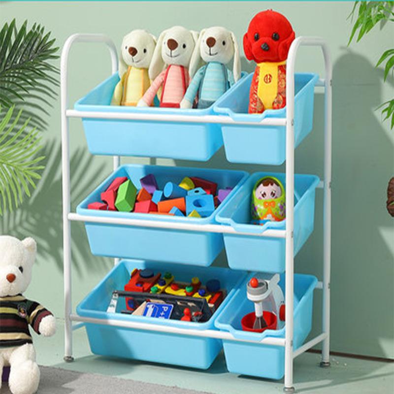 儿童玩具收纳架幼儿园多层置物架子宝宝分类柜整理架储物架大容量