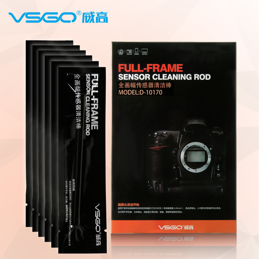 USD 16.62] VSGO sensor cleaning stick D-10170 full-frame DSLR Camera ...