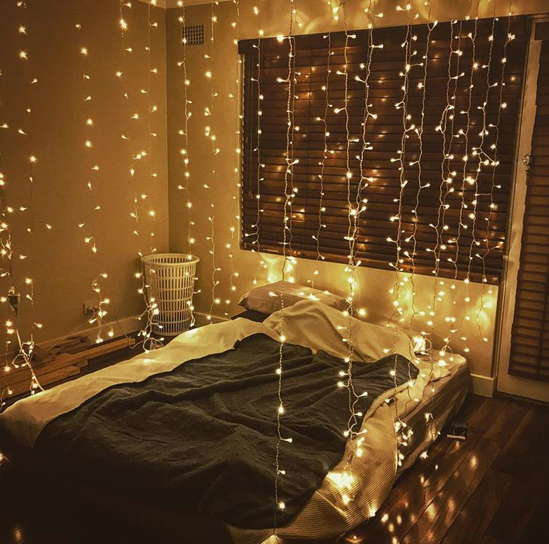 Lights Stars New Year small lights with decorative romantic wall lights creative simple atmosphere light wedding room room dormitory