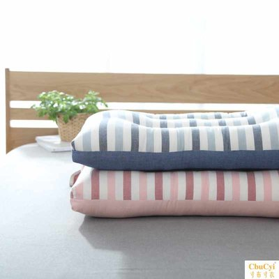Japanese-style three-dimensional washed cotton single pillow neck care cotton pillow washable feather velvet pillow one pair 2