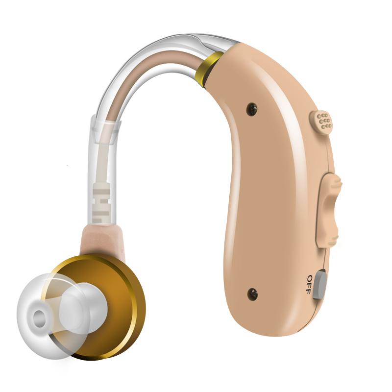 妙音耳聋人士老人专用无线隐形充电助听器
