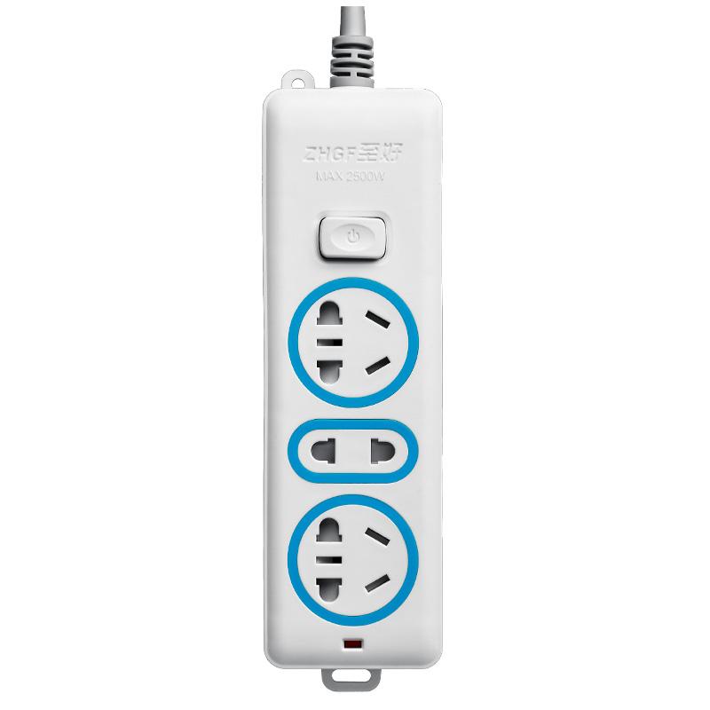 至好智能排插多孔多功能插座带USB充电板插板带线创意3米插线板_领取3元天猫超市优惠券