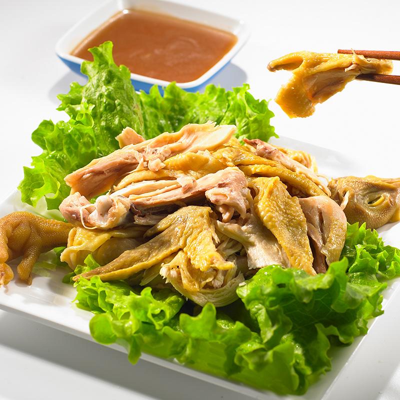 温州特产小吃零食休闲卤味美食盐焗鸡手撕鸡肉三黄鸡即食真空包装