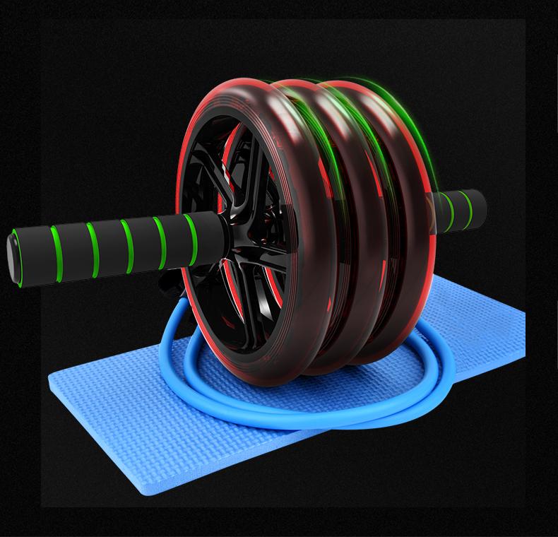 健腹轮腹肌轮瘦肚子男士家用健身器材收腹部减肥女运动锻炼卷腹机
