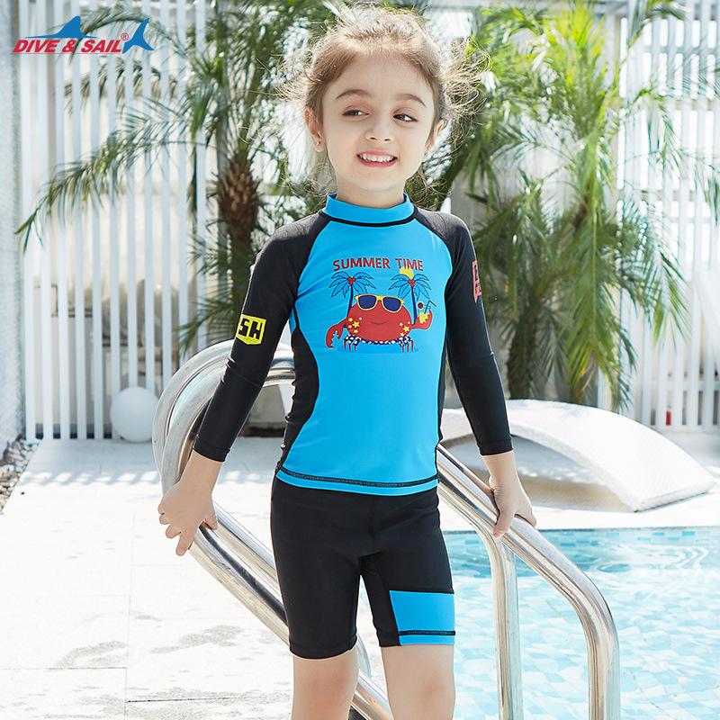 Đồ bơi cho trẻ em Bộ đồ cho bé trai Bộ đồ bơi trẻ em Đồ bơi trẻ em Trẻ em Làm khô nhanh Kem chống nắng Quần áo lặn - Đồ bơi trẻ em