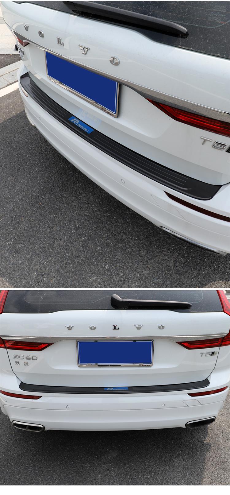 Ốp chống trầy cốp sau Volvo XC60 2018- 2020 - ảnh 25