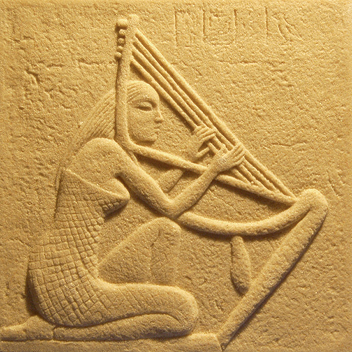 Art Sandstone relief of the ancient Egyptian Queen carving Sandstone ...