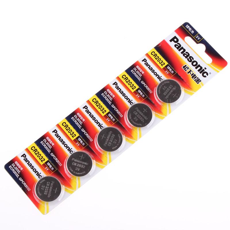 松下CR2032電池锂紐扣電池5