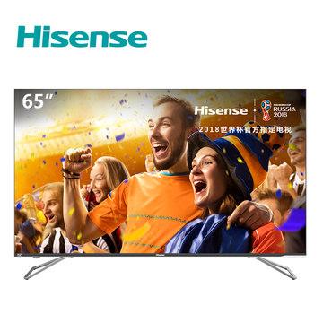 海信 H65E72A 65英寸AI智能全面屏超薄4K电视