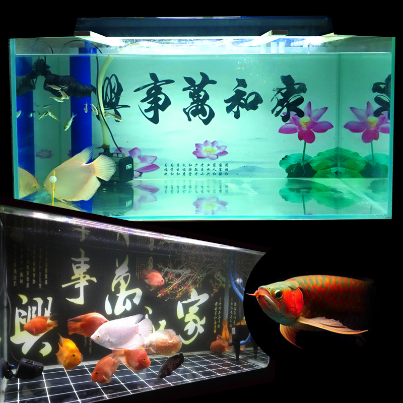 Usd 7 81 Custom Fish Tank Background Paper Hd Home And Mastersing Aquarium Background Sticker Stereoscopic Painting Wallpaper Design Wholesale From China Online Shopping Buy Asian Products Online From The Best