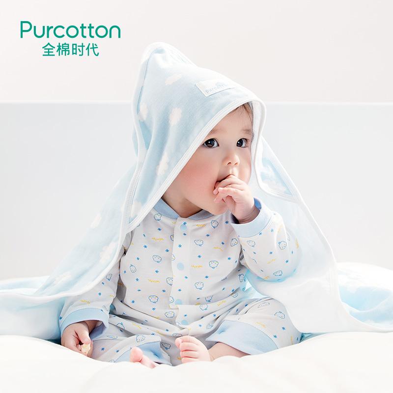 Хлопок эпоха ребенок хлопок марля держаться новорожденных ребенок из покрытый рано сырье небольшой одеяло 1 модель